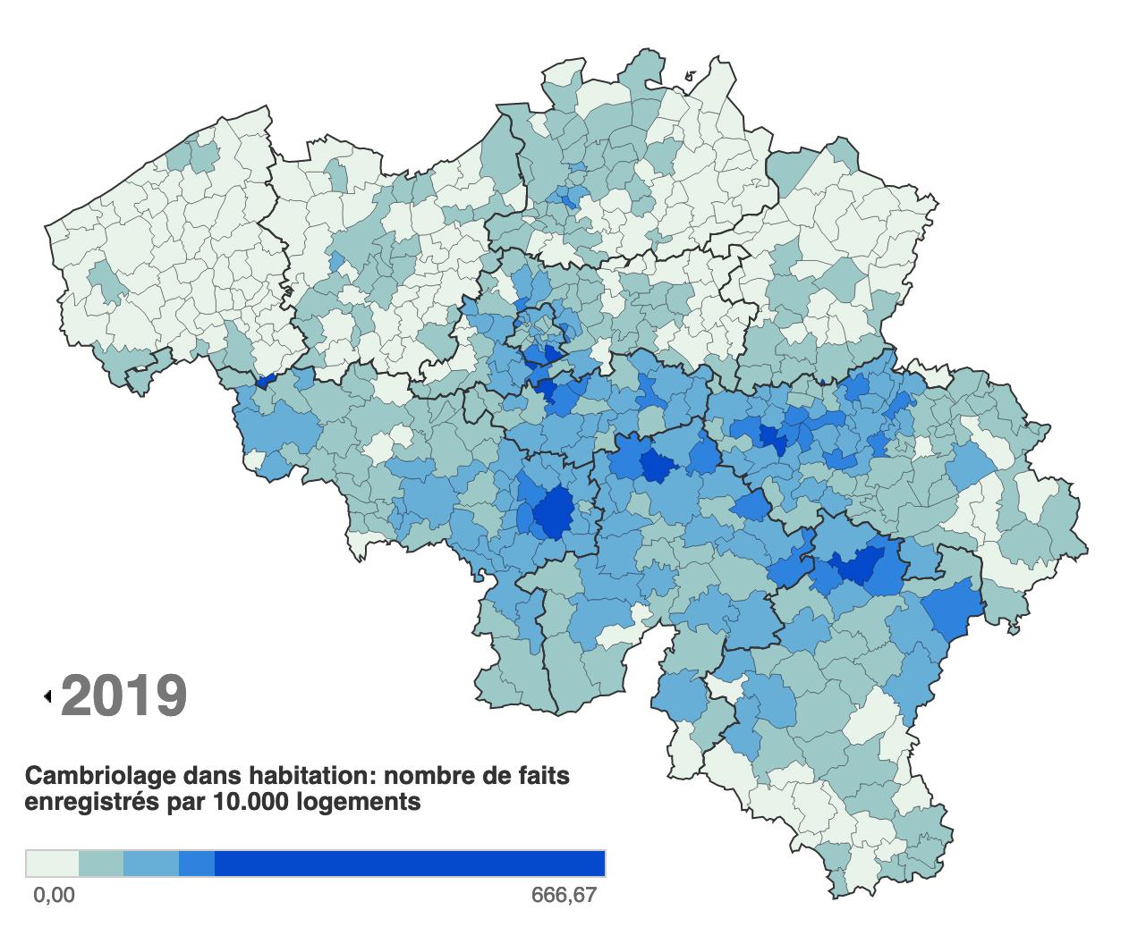 vol habitation belgique système alarme